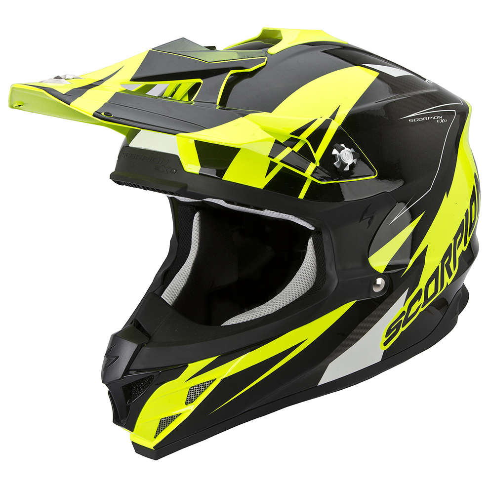 Helm VX-15 Evo Air Krush gelb-schwarz Scorpion
