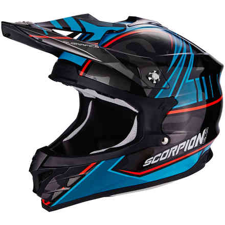 Helm Vx-15 Evo Air Miramar Blau Scorpion