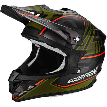 Helm Vx-15 Evo Air Miramar  Scorpion