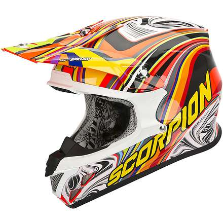 Helm VX-20 Air  Sym Rot-Multicolore Scorpion