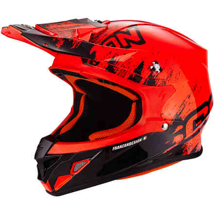 Helm Vx-21 Air Mudirt  Scorpion