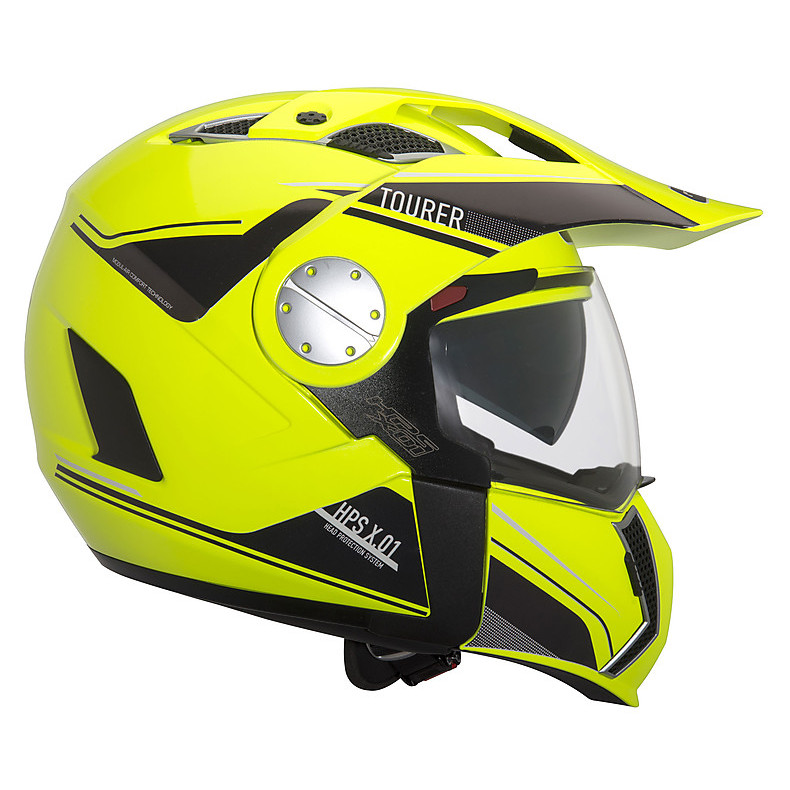 Helm X.01 Tourer - YELLOW FLUO Givi