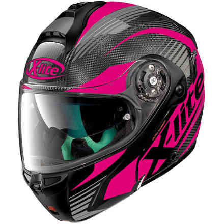 Helm X-1004 Ultra carbon Nordhelle pink X-lite