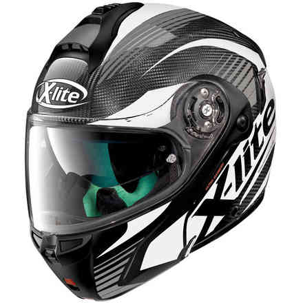 Helm X-1004 Ultra carbon Nordhelle Weiss X-lite