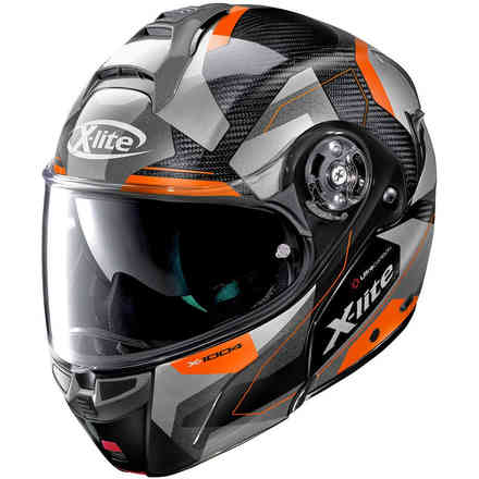 Helm X-1004 Ultra Dedalon glänzendes orange X-lite