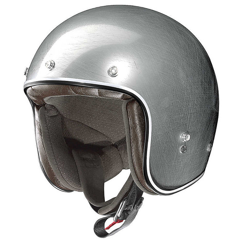 Helm X-201 Fresno Scratched Chrome X-lite