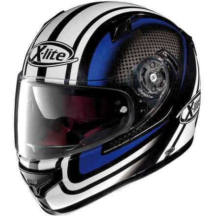 Helm X-661 Slipstream blau X-lite