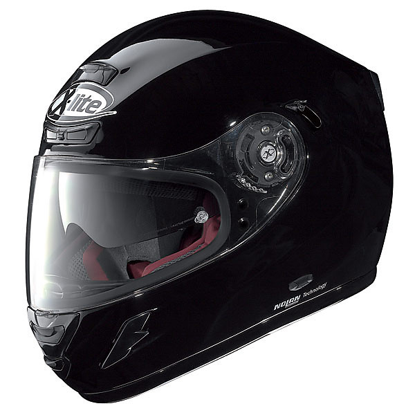 Helm  X-702 GT N-Com Start Black X-lite