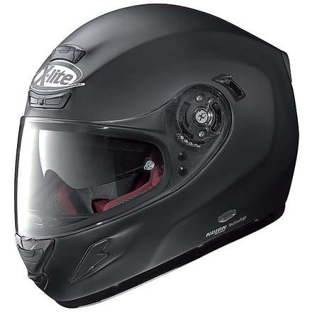 Helm  X-702 GT N-Com Start Flat Black X-lite