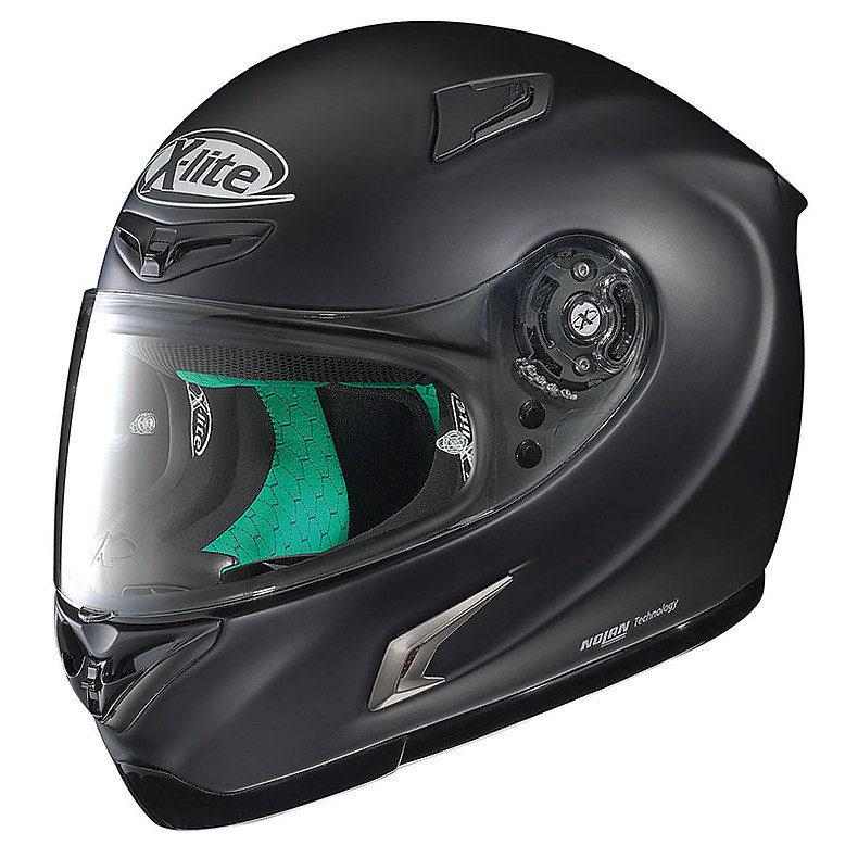 Helm X-802RR Start flat black X-lite