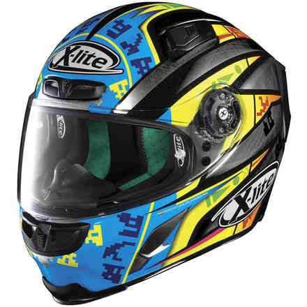 Helm X-803 Camier Scratch Chrome X-lite