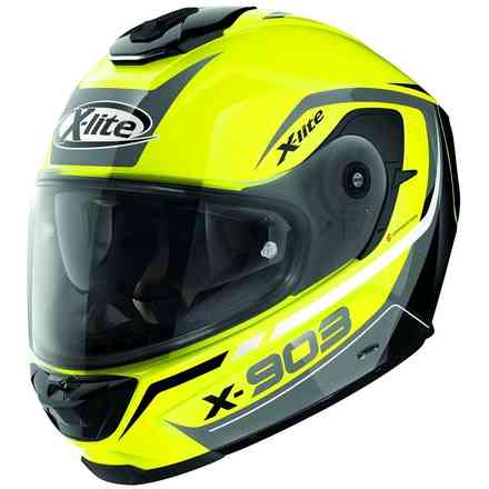Helm X-903 Cavalcade N-Com Led Yellow X-lite