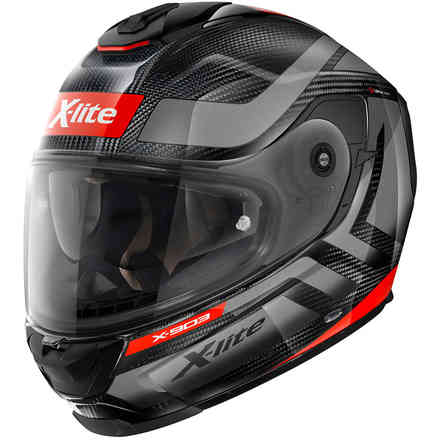Helm X-903 Ultra Airborne Carbon Corsa Red X-lite