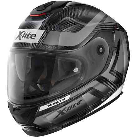 Helm X-903 Ultra Airborne Carbon Glossy White X-lite