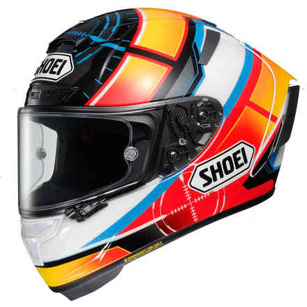 Helm X-Spirit 3 De Angelis Shoei