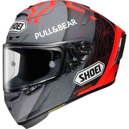 Helm X-Spirit III Black Concept 2.0 Mm93  Shoei