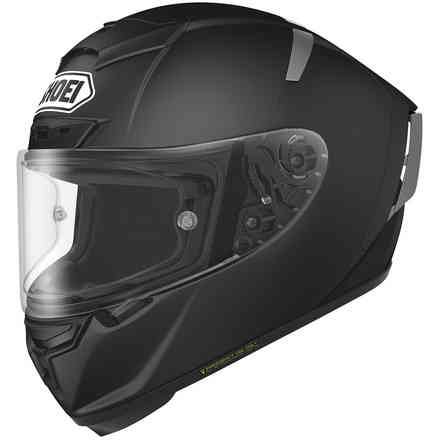 Helm  X-spirit III Candy Schwarz Matt Shoei
