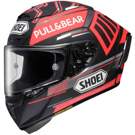 Helm X-Spirit III Marquez Black Concept Tc-1  Shoei