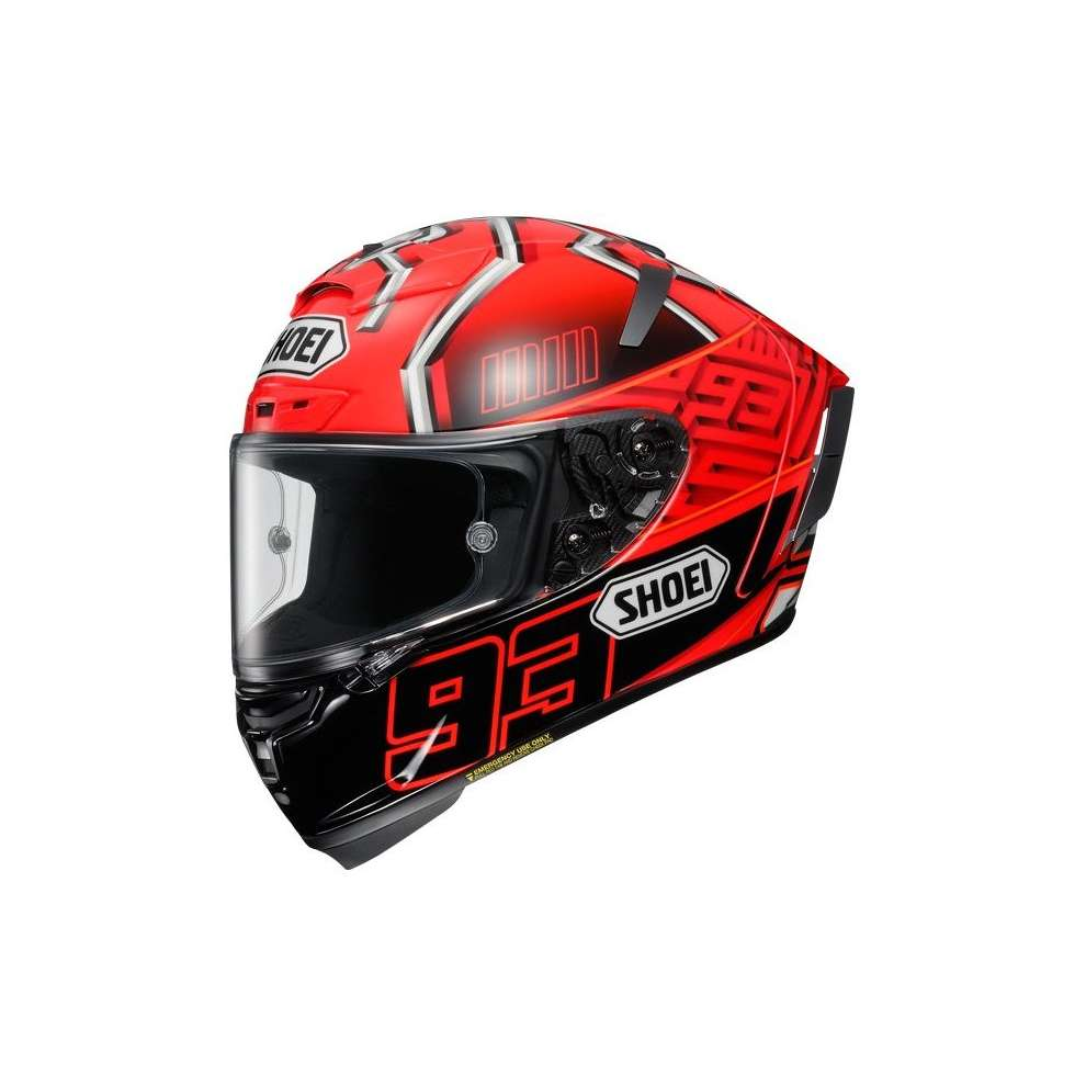 Helm  X-spirit III Marquez4 Tc-1 Shoei