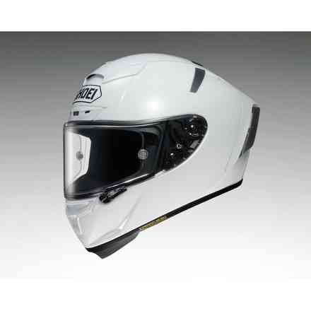 Helm  X-spirit III Plain Weiss Shoei
