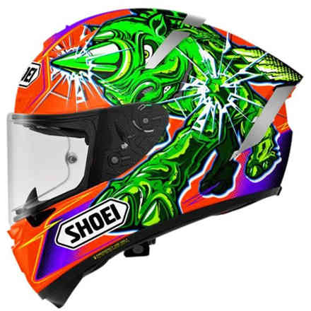 Helm X-Spirit III Power Rush Shoei