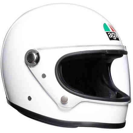 Helm X3000 Solid Weiss Agv