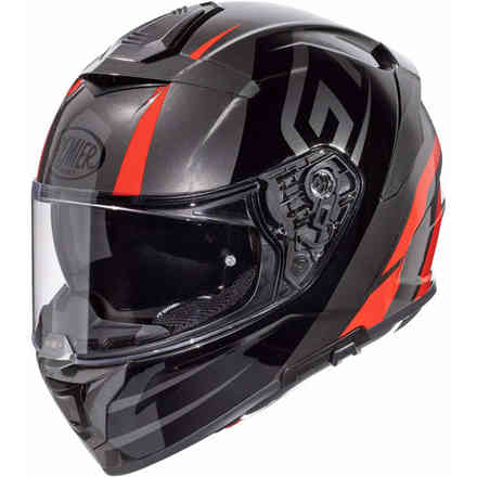 Helmet 20 Devil Gt17 Black Red Premier