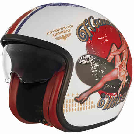 Helmet 2018 Vintage Pin Up 8 Bm Premier
