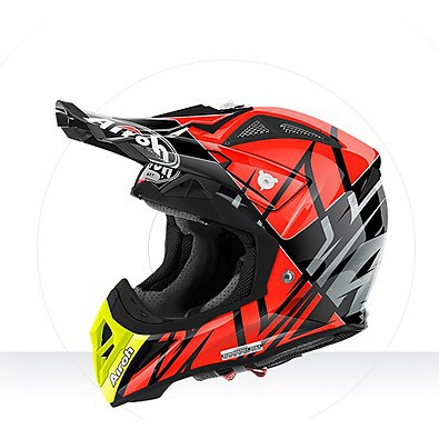 Helmet Aviator  2.2 Styling orange gloss Airoh