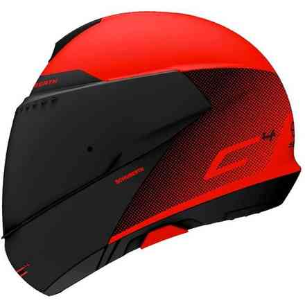 Helmet C4 Resonance Red Schuberth