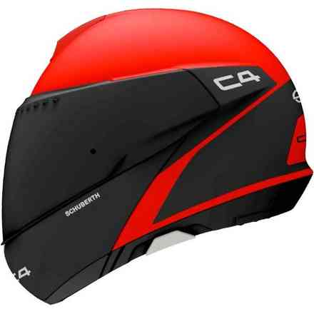 Helmet C4 Spark Red Schuberth