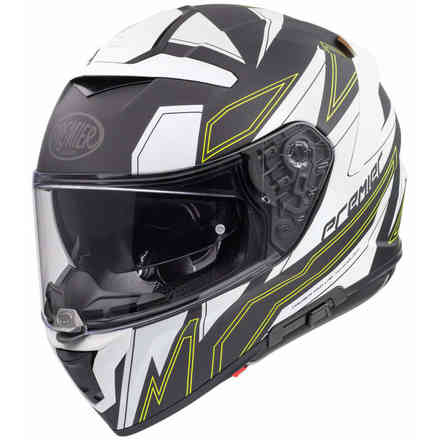 Helmet Devil El Y Bm Black Yellow Premier