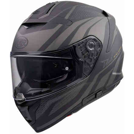 Helmet Devil Pr9 be Bm Black Gray Premier