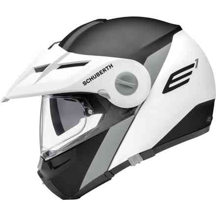 Helmet E1 Gravity Grey Schuberth