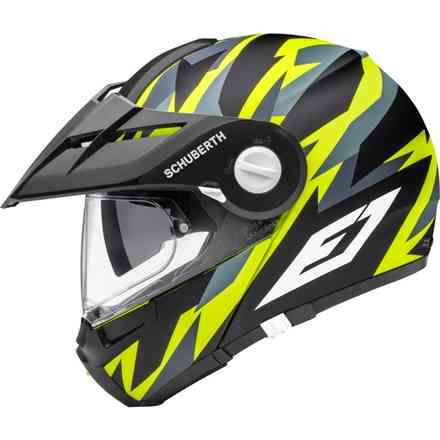 Helmet E1 Rival Yellow Schuberth