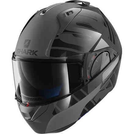 Helmet Evo-One 2 Lithion Dual Anthrazit / Schwarz Shark