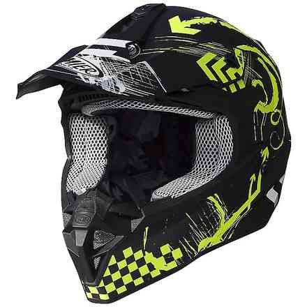 Helmet Exige Rxy Black Matt Yellow Premier