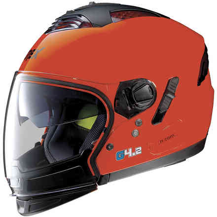 Helmet G4.2 Pro Kinetic N-Com Corsa Red Grex