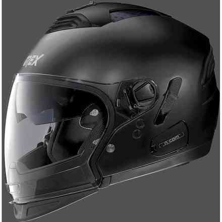 Helmet G4.2pro Kinetic N-Com Metal Black Grex