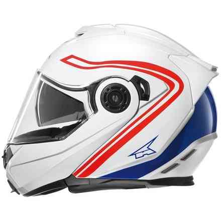 Helmet Galaxy with Pinlock White/Red Axo
