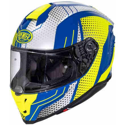 Helmet Hyper Bp12 Blue Yellow Premier