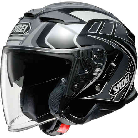 Helmet J-Cruise 2 Aglero Black Grey Shoei