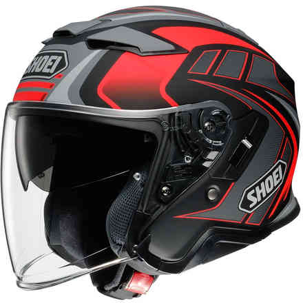 Helmet J-Cruise 2 Aglero  Red Shoei