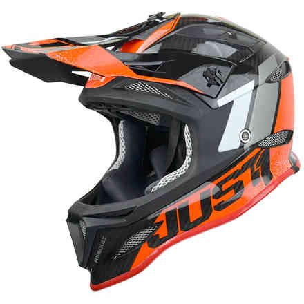 Helmet Jdh Assault Black-Red Just1