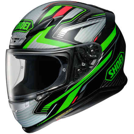 Helmet Nxr Stab Green Shoei