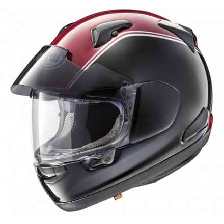 Helmet Qv-Pro Honda Goldwing Red Black Arai