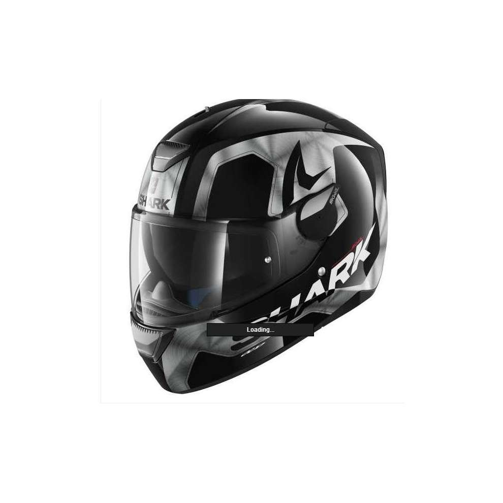 Helmet Skwal Trion black-silver Shark