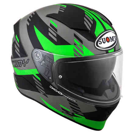 Helmet Speedstar Flow Green Fluo Black Suomy