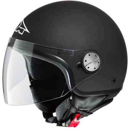 Helmet Subway Black Matt Axo