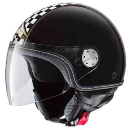 Helmet Subway Black-oro Axo